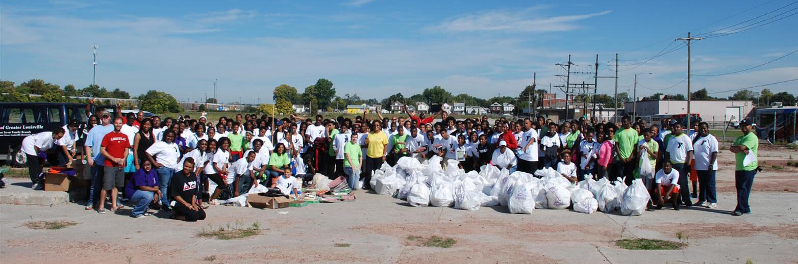 YMCA Black Achievers volunteers